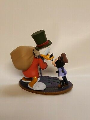 MICKEY /'s Christmas Carol LOTTO 4 Action Figures GHOSTS DONALD DUCK GOOFY MORTY