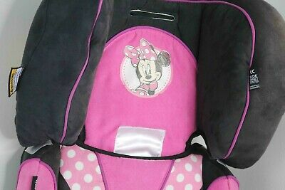 Disney Minnie Mouse Car Safety Booster Seat