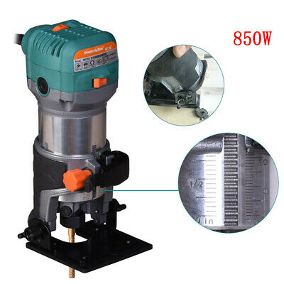 Electric woodworking Hand Trimmer Compact Router Joiner stone Trimming Tool 850w