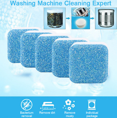US Washing Machine Cleaner Washer Cleaning Detergent Effervescent Tablet 1/12PCS