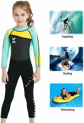 DIVE & SAIL Kids 2.5mm Wetsuit  One Piece UV Protection Thermal Swimsuit