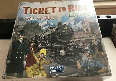 Ticket to Ride Europe by Days of Wonder BRAND NEW & SHRINK WRAPPED!