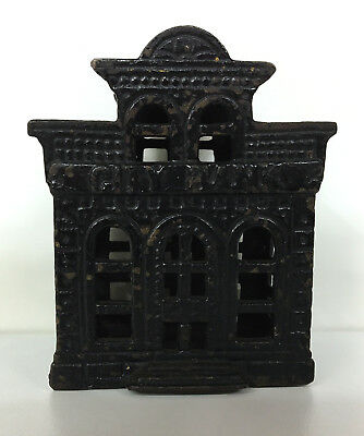 Cast Iron City Bank w/ Directors Room Still Bank