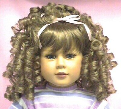 Monique Doll Wig size 5//6 New in Package ~ Margo ~ White//Platinum~ Darling!
