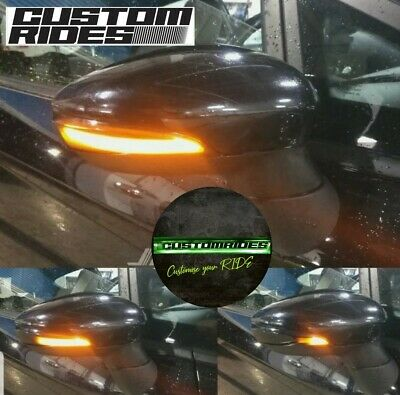 LED Dynamic Indicator sequential Lights - Ford Fiesta MK7 08-17 & B-Max 12-17