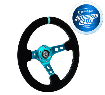 3 Deep NRG Innovations RST-006SL-Y Reinforced Wheel-350mm Sport Steering Wheel