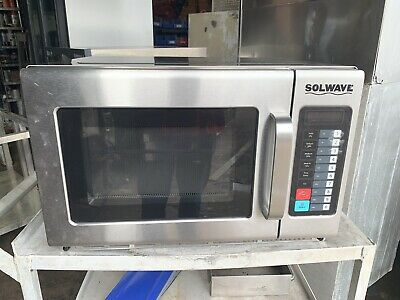 Solwave 1800W Commercial Microwave - 220v 1 Phase Heavy Duty