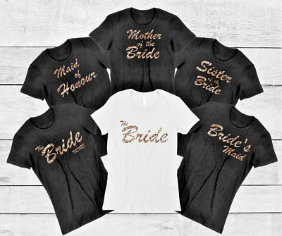 Animal Print Personalised T-Shirt, Bachelorette, Hen Party, Bridal Party