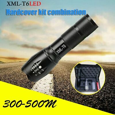 Rechargeable Exquisite Gift Box Torch Lamp LED Flashlight Five Mode XML-T6