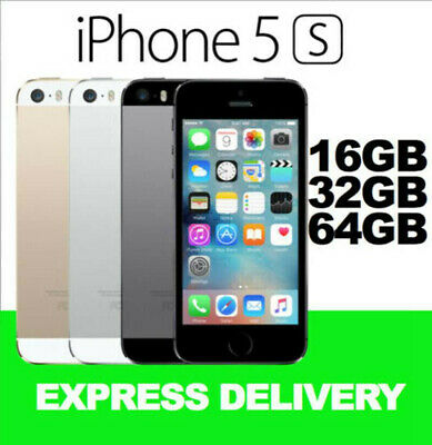 Apple iPhone 5S 32GB 64GB Grey Silver Gold Factory Unlocked Smartphone in Sealed