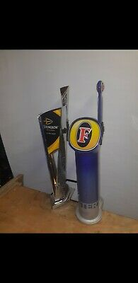 Fosters Lager And Strongbow Cider Beer Pumps