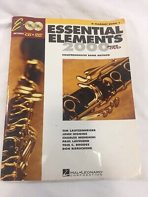 Essential Elements 2000, Bb Bass Clarinet, Book 1, with CD, Band Method