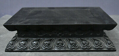 """12"""" Old Chinese Dynasty Palace Rosewood Wood Book Storage Casket Case Box Statue"""