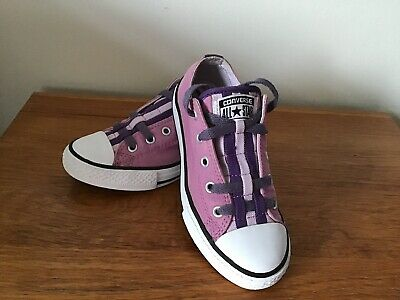 Girls All Star Converse Trainers Size U.K 13 Good Condition