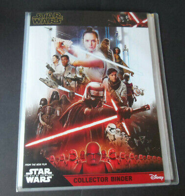 Topps Star Wars The Rise Of Skywalker 172 Card Set & 6 Ltd & 6 Patch Cards