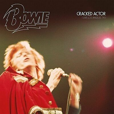 David Bowie - Cracked Actor - Live At Los Angeles Amphitheatre - 2 x CD - New