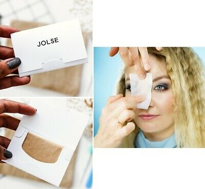 JOLSE Blotting Paper, Make-Up Sebum Control for Oily/Greasy Skin (2 x 25 sheets)