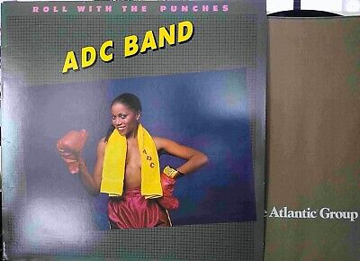 ADC BAND,Roll With the Punches,Vinyl LP,1982,EXC-