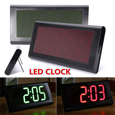 Modern 3D Digital Large LED Desk Wall Clock Home Decoration 24 Hour Display b