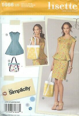 Simplicity 8417 Misses/'//Miss Petite Dress   Sewing Pattern