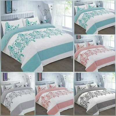 100/% OFFICIAL LICENSED DARCY FLORAL PRINTED POLLY//COTTON DUVET QUILT COVER SET