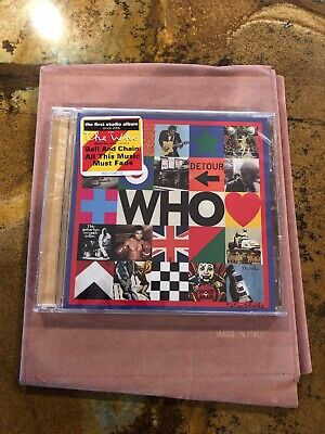 The Who **Who **BRAND NEW CD!!  NEW RELEASE!!
