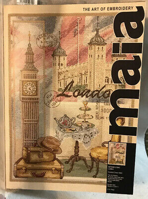 Maia  Anchor ~ London ~ Counted Cross Stitch Kit #5678000-01040