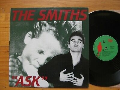 "THE SMITHS - ASK - Rare Australian PROMO 12"" - IN AUSTRALIAN ONLY PICTURE SLEEVE"
