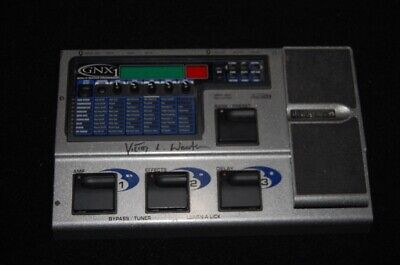 DigiTech GNX1 GeNetX Guitar Multi Effects Pedal owned by famed ~Victor L. Wooton
