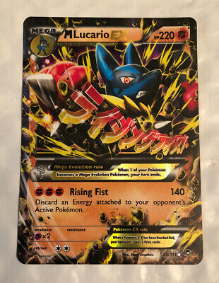 Mega Powers Collection Promo x4 NM-Mint XY211 Lucario Spirit Link