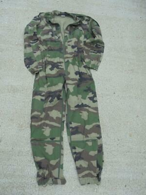 Genuine NEW French Army Woodland CCE Camouflage Tank Crew Coveralls - 120L XL