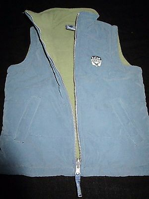 Boys size 4 Pumpkin Patch warm fleecy lined vest