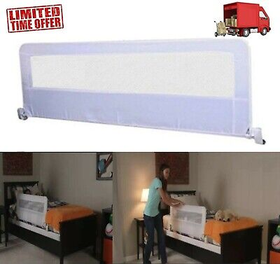 "Safety Bed Rail 54"" Toddler Kids Swing Down Guard Child Baby Regalo Twin Queen"
