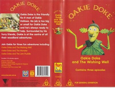 Oakie Dokie And The Wishing Well Video Pal Vhs A Rare Find~