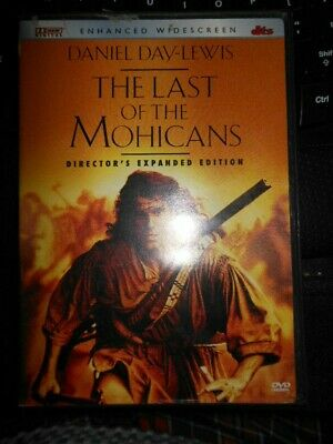 The Last of The Mohicans  Daniel Day Lewis    DVD