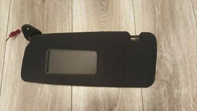 BMW E46 3 Series M-Sport Alcantara/Black Illuminated Sun Visor, Saloon/Estate FL
