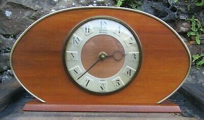 Vintage Bentima,8 Day' Foreign working wind-up  Mantel Clock