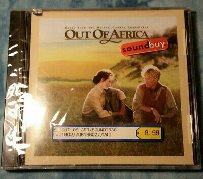 Out of Africa Soundtrack -CD- OST Still Sealed Mint 1986 MCA Free Shipping