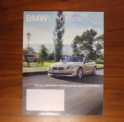 Bmw Magazine 6 Series Coupe Convertible F12 F13 1 Series M Coupe E82 Collectible