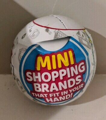 5 Surprise Mini Brands Zuru 1 BALL FAST COOl RARE 1 Surprise Ball