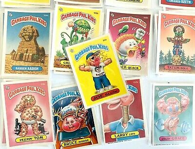 LOT OF 70: 1986 Garbage Pail Kids OS3 OS4 Random Cards Stickers In Envelopes