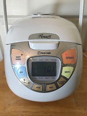 Rosewill Fuzzy Logic 5.5 Cup Rice Cooker GUC MODEL RHRC-13001