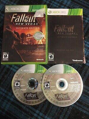 Fallout: New Vegas -- Ultimate Edition (Microsoft Xbox 360, 2012) Complete
