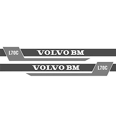 NS (New Style) Decal Set made to fit Volvo BM Wheel Loader L70C