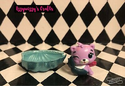 Hatchimals CollEGGtibles Mermals Season 5 MER-CHEETREE Rare Purple Cheetah New
