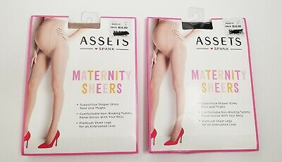Spanx Assets Maternity Shaping Sheers Size 1 - 2 PACK!!!*NEW*