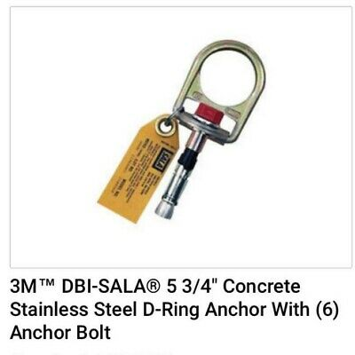Concrete Stainless Steel D-ring Anchor With Anchor Bolt