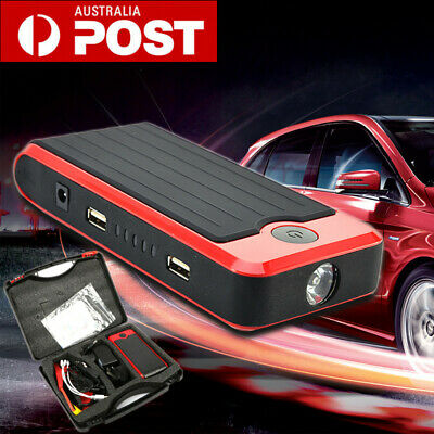 12000mAh 12V Car Battery Jump Start Pack Booster Emergency Starter Power Bank AU