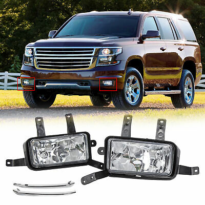 Fits 2015-2020 Chevy Suburban/Tahoe Fog Light Lamp Trim Switch Harness GM2593160