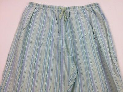 Xhilaration Womens Striped Sleepwear PJs Pants Size XL Pajamas Blue Purple Green